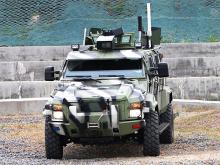 На КрАЗе прошли испытания беспилотного бронеавтомобиля. Фото