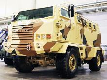 КрАЗ рассекретил новый бронированный армейский вездеход КрАЗ Hulk