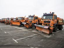 Киеву передали 15 снегоуборочных машин