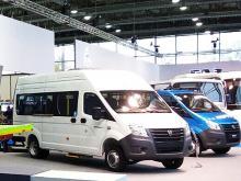 ГАЗель NEXT появилась с газовым двигателем LPG - ГАЗель