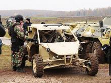 Российский спецназ пересядет на чеченские багги