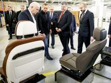 Во Львовской области открылся завод по производству сидений для Audi и BMW