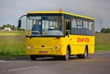 Богдан поставил 11 школьных автобусов в Тернопольскую область
