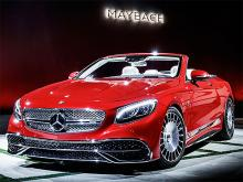 Mercedes-Benz представила новый кабриолет Mercedes-Maybach S 650 Cabriolet - Mercedes-Benz