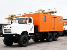 КрАЗ выпустил партию спецмастерских на шасси КрАЗ 63221 6х6