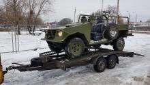 В Украине создали армейские штурмовые автомобили Мольфар