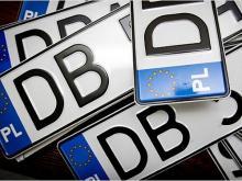 В Верховной Раде появился законопроект о регистрации в полиции автомобилей на иностранных номерах