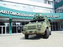 В Киеве покажут весь ряд военной техники, выпускаемой на заводе «Богдан» - Богдан