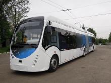 В Ровно поступил гибридный троллейбус