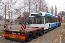 Днепр получил белорусские троллейбусы