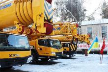 Украинские спасатели получили инженерную и автомобильную технику китайского производства - XCMG