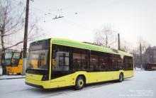 Львов получил три новых троллейбуса Электрон - Электрон