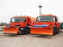 КрАЗ показал, что готов обеспечить всю Украину собственной снегоуборочной техникой