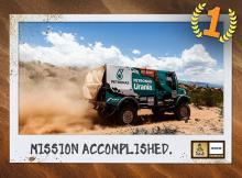 IVECO выигрывает 4-й этап Дакара