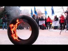 Владельцы авто иностранной регистрации завтра собирыются перекрыть въезды в Киев - иностран
