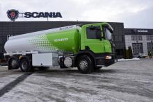 Топливо на АЗС Окко будут привозить Scania - Scania