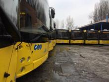 В Киев прибыла партия из 50 новых автобусов