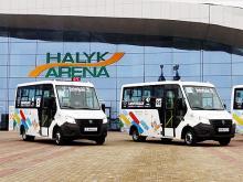 Участников зимней Универсиады в Алма-Ате будут возить на микроавтобусах «ГАЗель NEXT» - ГАЗель