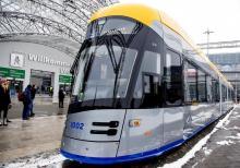 Польский Solaris представил футуристический трамвай