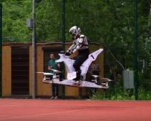 Мотоцикл будущего. Компания Hoversurf успешно испытала летающий мотоцикл. Видео - мотоцикл