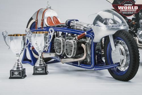 В Минске открывается галерея кастомных мотоциклов Юрия Шифа
