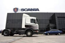 Scania реализовала на реальном грузовике проект украинского дизайнера - Scania
