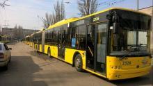 В Киеве троллейбусы Богдан раздают бесплатный WiFi