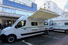 В Украине начинают работать мобильные сервисные центры МВД по регистрации авто - сервисн