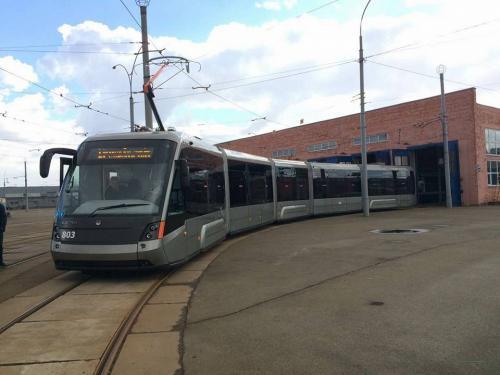 Киевпасстранс подписал договор о поставке 10 львовских трамваев Электрон