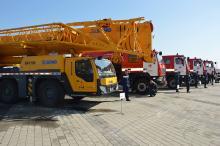 Пожарные Днепра получили новую спецтехнику - пожар