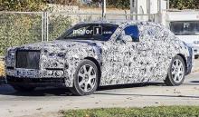 Новое поколение Rolls-Royce Phantom дебютирует до конца 2017 года