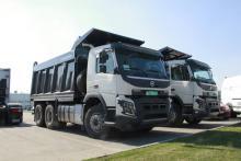 Volvo Trucks в этом сезоне активизировала поставки самосвалов на украинский рынок  - Volvo