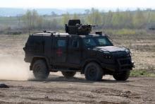 Национальная Гвардия получила на вооружение бронеавтомобиль Козак-5