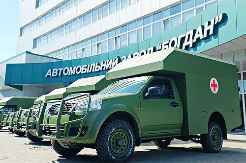 Украинская армия будет получать модернизированные санитарные Богдан-2215 - Богдан