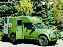 Украинская армия закупила крупную партию санитарных автомобилей