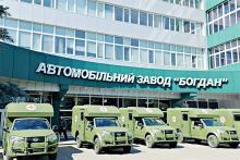 Военные получили первую партию санитарных автомобилей Богдан 2251 - Богдан