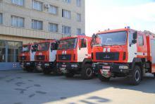 Харьковские спасатели пересели на МАЗы - пожар