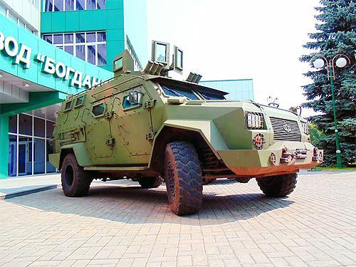 Украинский бронеавтомобиль «Барс-8» проходит государственные испытания