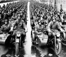 Мотоциклы Победы. Как у Красной Армии появились военные мотоциклы - Днепр