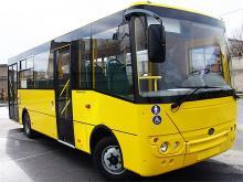 Перевозчики Киевской области выбрали городские автобусы Богдан А22112