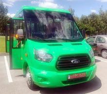 """В Украине выпустили новую """"маршрутку"""" Рута на агрегатах Ford Transit"""