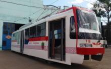В Запорожье выпустили собственный трамвай