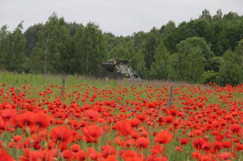 Украинский Дозор-Б наконец-то засветился на учениях десантников