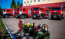 Спасатели ГСЧС получают новую технику по всей Украине - МАЗ