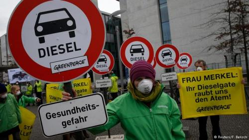 Суд разрешил немецким городам запрещать въезд дизельных авто