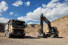 Как показали себя самосвалы Volvo FMX и экскаваторы Volvo Construction в реальных условиях эксплуатации.  - Volvo Trucks