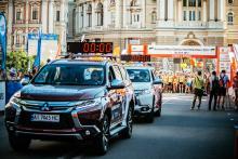 Mitsubishi в Украине системно поддерживает массовый спорт