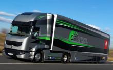 Renault Trucks анонсирует появление тягача, который будет потреблять на 13% меньше топлива, чем нынешние грузовики серии Т - Renault Trucks