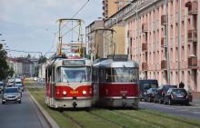 Прага возобновила закупку легендарных трамваем Tatra T3 - трамва