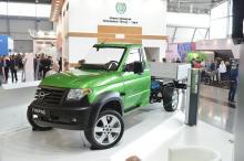 УАЗ показал гибридный Patriot - УАЗ